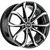 MSW 45 (6.5x16) matt black full polished
