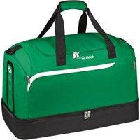 JAKO Sportbag Performance with Ground Compartment Senior sport green/white/black