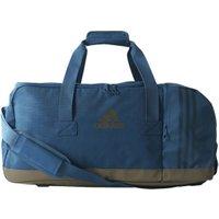 Adidas 3 Stripes Team Bag M blue/petrol night/trace olive (BR5145)