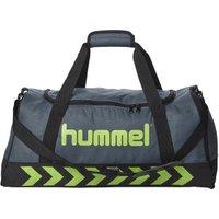 Hummel Authentic Sports Bag L dark slate/green flash