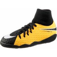 Nike HypervenomX Phelon III DF IC Jr laser orange/black/volt/white