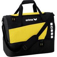 Erima Club 5 Sporttasche mit Bodenfach M yellow/black