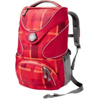 Jack Wolfskin Ramson Top 20 Pack indian red woven check