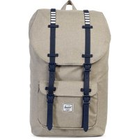 Herschel Little America Backpack light khaki crosshatch/peacoat rubber