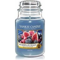 Yankee Candle Mulberry & Fig Delight Candle in Glass (Medium)