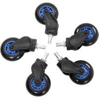 AKRACING Rollerblade Casters blue