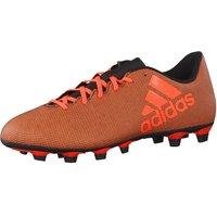 adidas Mens X 74 FxG Footbal Shoes, Multicolor Core Black RedSolar Orange, 10 UK