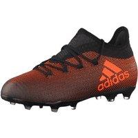 Adidas X 17.1 FG Jr core black/solar red/solar orange
