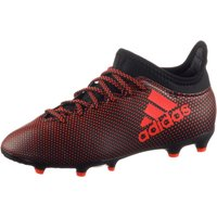Adidas X 17.3 FG Jr core black/solar red/solar orange