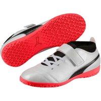 Puma ONE 17.4 IT V Jr white/black/coral
