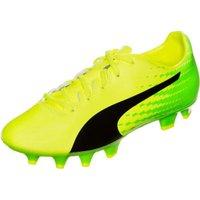 Puma evoSPEED 17.4 FG Jr safety yellow/puma black/green gecko