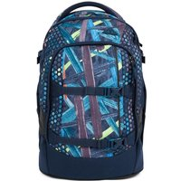 Satch School Backpack Splashy Lazer