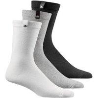 Adidas Performance Thin Crew Socks 3 black/white/grey