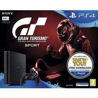 Sony PlayStation 4 (PS4) Slim 500GB + Gran Turismo Sport