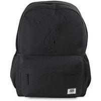 Vans Realm Plus Backpack snoopy black