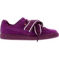 Puma Suede Heart Satin II Women dark purple/dark purple