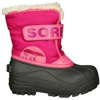 Sorel Snow Commander Youth Kids deep blush/tropic pink