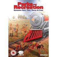 Parks & Recreation - Seasons 1-4 Box Set: 12 Discs [DVD] [2009]