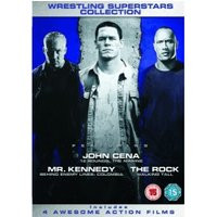Wrestling Superstars Collection - 12 Rounds / Marine / Behind Enemy Lines 3 / Walking Tall [DVD]