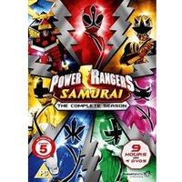 Power Rangers Samurai - The Complete Collection (4 disc set) [DVD]