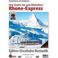 Rhone-Express - Vom Genfer See zum Matterhorn - Traumreisen auf Schienen - Edition Eisenbahn-Romantik - Rio Grande [DVD]