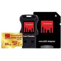Strontium microSDXC Nitro Plus Kit 64GB