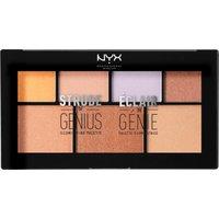 NYX Strobe Of Genius Illuminating Highlighter Palette