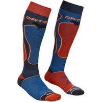 ORTOVOX Ski Rock'n'Wool Socks Skisocks blue/red/black (54252-515)