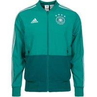 Adidas DFB Presentation Jacket WM 2018 eqt green/white/real teal