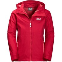Jack Wolfskin Girls Grivla 3in1 Jacket true red
