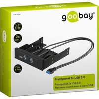 Goobay 2-Port USB 3.0 Front Panel Hub (95370)