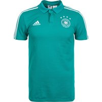 Adidas Germany  DFB Cotton Poloshirt WM 2018 turquoise/eqt green/white