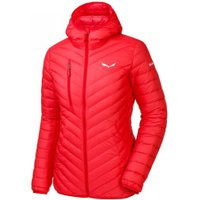 Salewa Ortles Light Down Hood Jacket Women hot coral