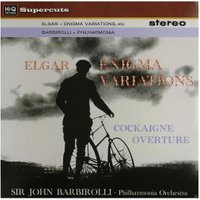 Philharmonia Orchester - Elgar/Enigma Variations/Overture Cockaigne (180 G - (Vinyl)