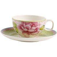 Villeroy & Boch Rose Cottage teacup with saucer 2 pcs. Green
