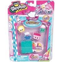 Shopkins Season 6 - Chef Club 5 Pack