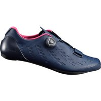 Shimano RP9 Road Shoes (2017) Navy