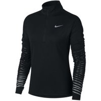 Nike Women Running Langarmshirt Dry flash Element Top (856608-010) black/anthracite