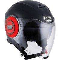AGV Fluid Black Matt/Red