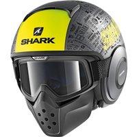 SHARK Drak Tribute Grey/Yellow
