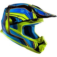 HJC FX Cross Piston blue/yellow MC2