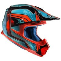 HJC FX Cross Piston blue/red MC4