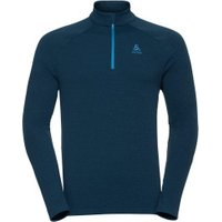 Odlo Snowbird Sport Sweater Men opal blue melange