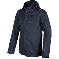 CMP Man Softshell Jacket Zip Hood (3Z56057) b.blue/corda