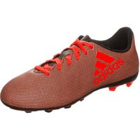 Adidas X 17.4 FxG Jr core black/solar red/solar orange