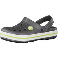 Crocs Kids Crocband graphite/volt green