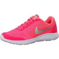 Nike Revolution 3 GS racer pink/white/lava glow