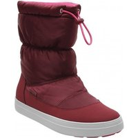 Crocs LodgePoint Shiny Pull-On Women garnet/candy pink