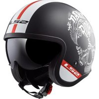 LS2 OF599 Spitfire Inky black/white/red