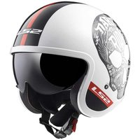 LS2 OF599 Spitfire Inky White/Red/Black